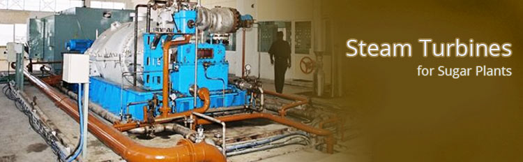 Steam Turbines for Sugar plants